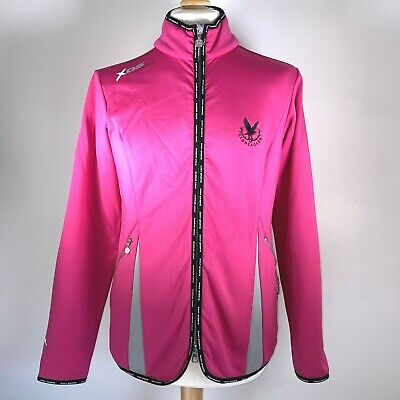 XDS Daily Sports Gleneagles Soft Shell Fleece Lined Golf Top Pink Size L Women's