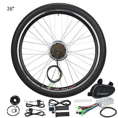 """250w 36v Bicicleta Eléctrica Motor Kit De Conversión E 26"""" Rueda Trasera"""