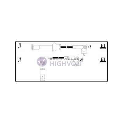 Genuine HighVolt Ignition Cable Kit - OEF962