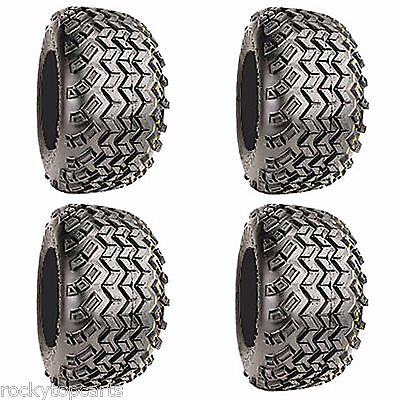 Set 4 Golf Cart Tires 18x9.50-8 Excel Sahara Classic 4 Ply All Terrain Off Road