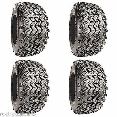 Golf Cart Tires Set 4 - 18x9.50-8 Excel Sahara Classic 4Ply All Terrain Off Road