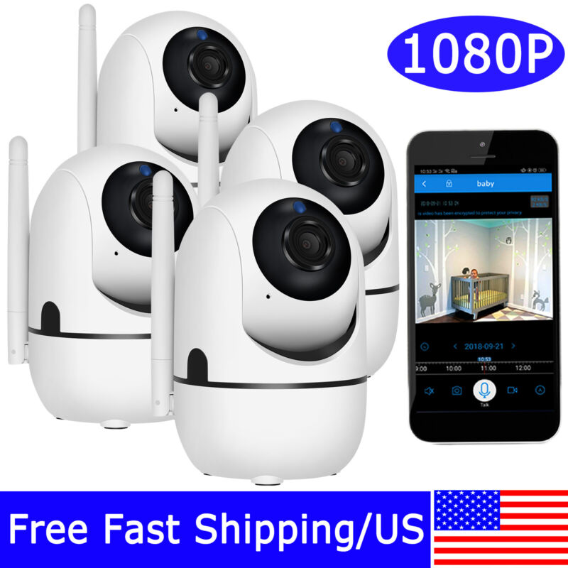 1080P HD Wireless WIFI Home Security Audio Camera Baby Monitor 2Way Audio Motion
