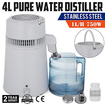 4l Wasser DestilliergeräT Wasserfilter Zuhause BüRo Wasserflasche Hot Newest - Wasser Filter Flasche
