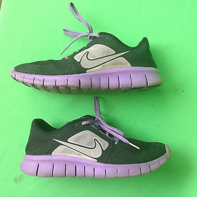 1a5d189dc NIKE FREE RUN3 girl's fashion running walking mesh lightweight shoes  size--6Y