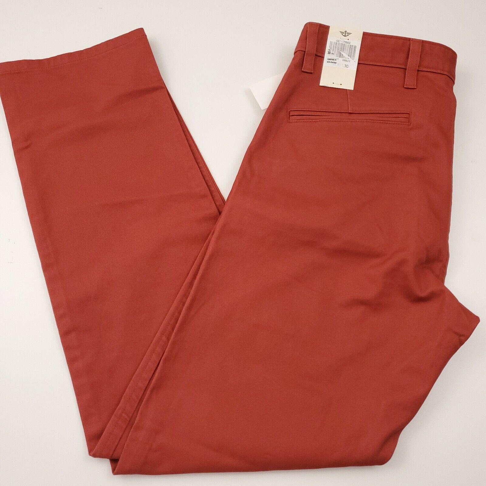 Dockers Men's Broken In Alpha Chino Pants Size 38 X 29 Slim