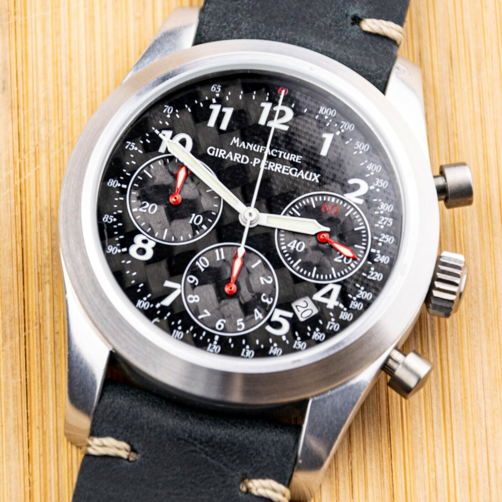 GIRARD-PERREGAUX – F1-047 – 4955 – AUTOMATIC CHRONOGRAPH – ALUMINIUM – 42 MM - watch picture 1