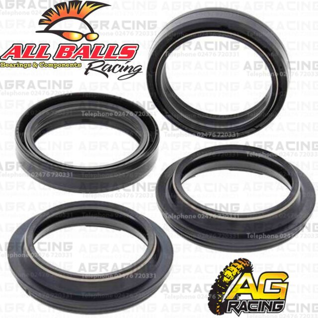 All Balls Fork Oil & Dust Seals Kit For Triumph Speed Triple 900 1994-1996 95-96