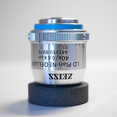 Zeiss Ld Plan-neofluar 40x0.6 Korr Infinity0-1.5 Microscope Objective 441350