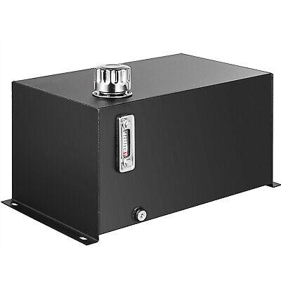 Hydraulic Reservoir Oil Tank Fuel Tank 10 Gal Steel With Filteramp Temp Gauge