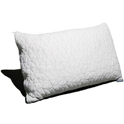 - Adjustable Shredded Memory foam pillow with Bamboo Derived Viscose Rayon Cover