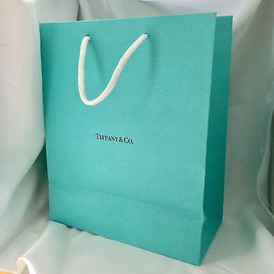 Tiffany Blue Gift Bags (Tiffany & Co Blue Shopping Bag Gift Bag 9.75