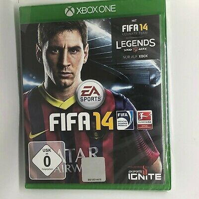 Fifa 14 (Xbox One) GAME NEW euro import english gameplay
