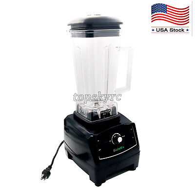 2l 2200w Heavy Duty Blender Juicer Food Processor Smoothie Bar Fruit Mixer Us