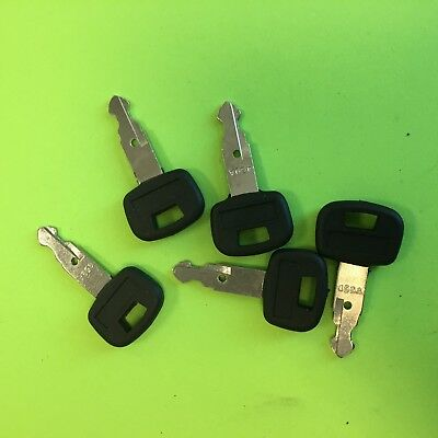 5 Keys Fits For Kubota Mini Excavator And Tracked Loader Equipment Ignition 459a