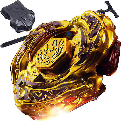 Toy Armor (L-Drago Destructor Destroy Gold Armored Beyblade STARTER SET w/ Launcher)