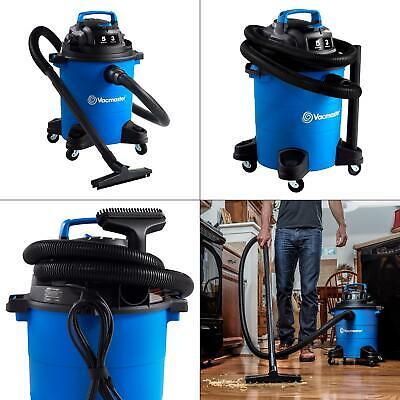 5 Gal. Wetdry Vacuum Vacmaster Cleaner Peak New Tank Motor Floor Gallon Shop