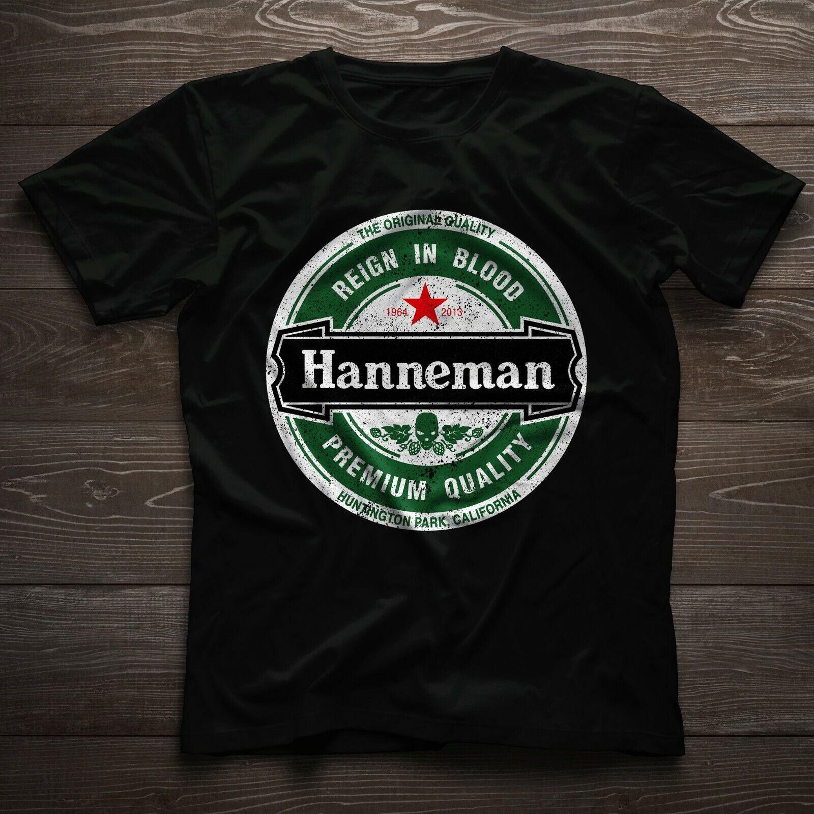 JEFF HANNEMAN Mens T-SHIRT Slayer Reign in Blood Guitar Rock Unisex Top Tee