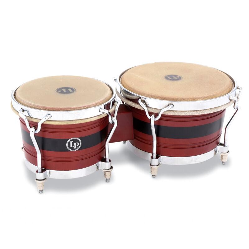 """Latin Percussion LP John """"DANDY"""" Rodriguez Jr. Signature Wood Bongos"""