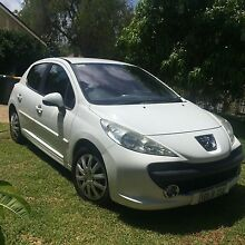 2008 Peugeot 207 XT HDI Diesel Turbo 5 speed manual. Bicton Melville Area Preview