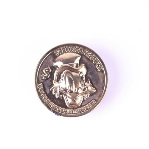 Scrooge Mcduck The Richest Duck In The World Coin Disney Pin
