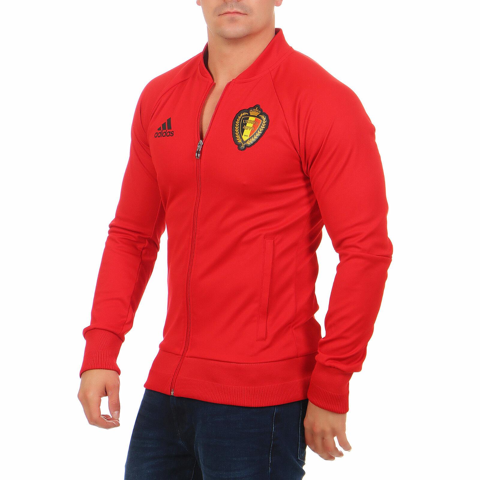 Adidas Belgium Herren AC5818 Anthem Jacke Fussball Sport Trainingsjacke S M L