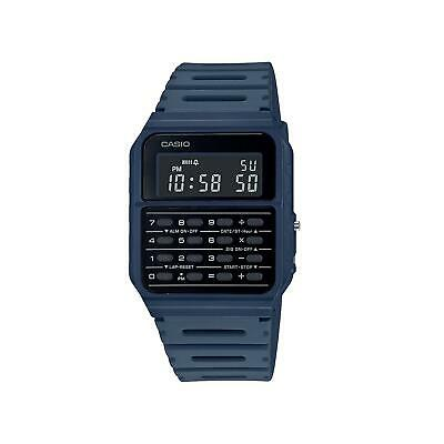Casio Vintage Quartz Black Dial Green Resin Strap Unisex Watch CA-53WF-2BEF