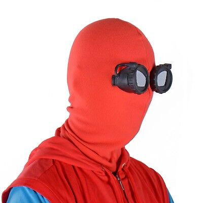 SpiderMan Mask Spider-Man Homecoming Spider Man Homemade Suit Halloween Cosplay