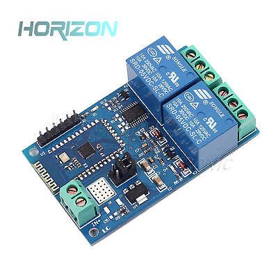 5v12v 2ch Bluetooth Relay Module Smart Home Mobile App Remote Control Switch