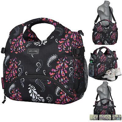 Sporttasche Damen Mercy KEANU Fitnesstasche 18L Gym Yoga Tasche Bag Schwarz Pais