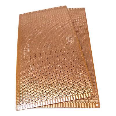 Us Stock 2pcs Prototype Pcb Universal Bread Board 13 X 25cm Sigle Side Copper