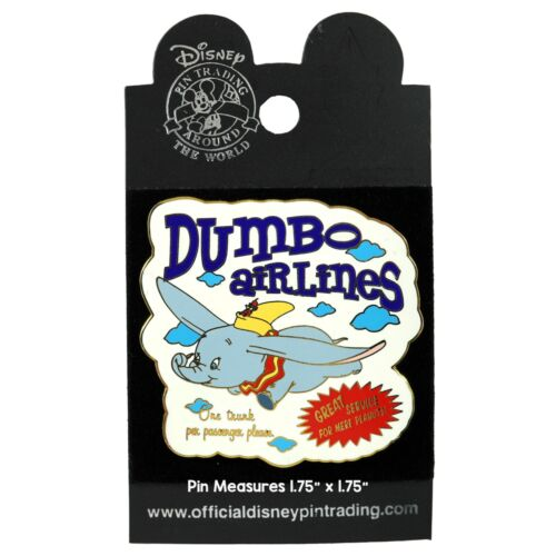 Dumbo Airlines Disney Pin • January 2004 #27718 • New on Card DLR