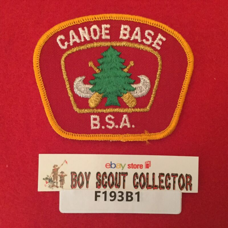 Boy Scout Region Seven B.S.A. Canoe Base Hat Patch NO 7