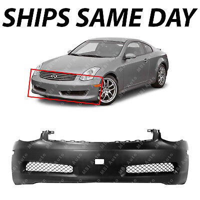 Used, NEW - Primered Front Bumper Cover Fascia for 2003-2007 Infiniti G35 Coupe 03-07 for sale  USA
