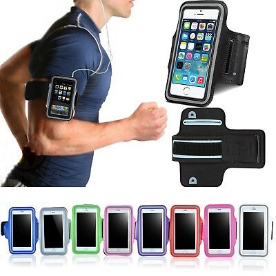 For iPhone XS Max 8 7 6s Plus Sport Gym Running Joging Armband Case Cover Holder