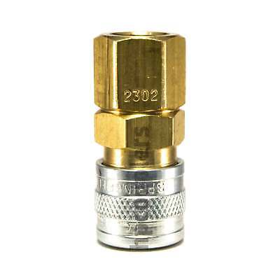 Foster 2302 18 Female Npt X 18 Industrial Coupler Brass Nipple Air Fitting