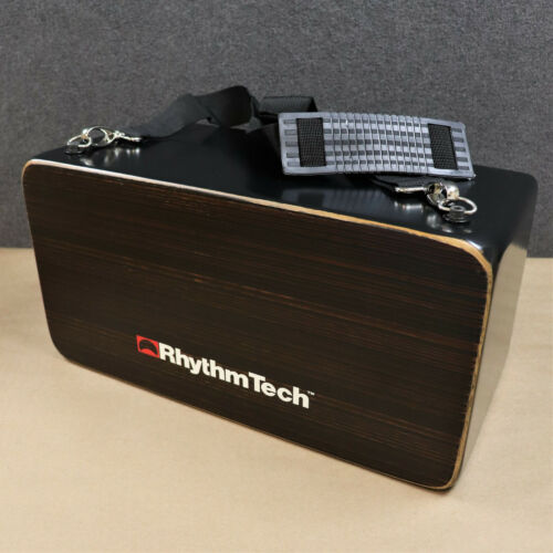 RhythmTech Bongo Cajon w/ Snares On-Off Carry Strap Hand Drum Percussion RT5725S