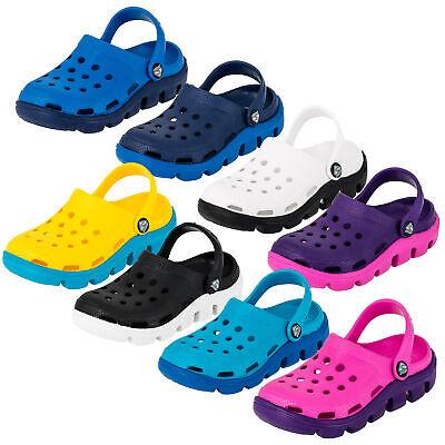 s Unisex Jungen Mädchen Garten Freizeit Schuhe zweifarbig (Trendige Kinder)