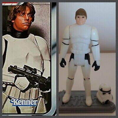 Luke. Stormtrooper. 1984. Star wars.figurine.Vintage.kenner.