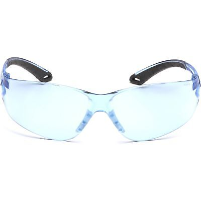 Pyramex Itek Safety Glasses With Blue Lens