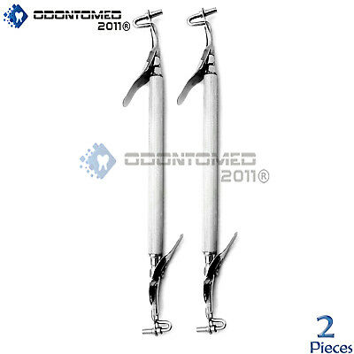 2 Amalgam Carrier Surgical Dental Instruments