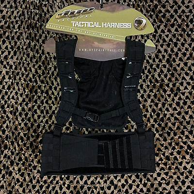 NEW Dye Tactical Assault Molle Paintball Vest Harness Pod Pack - Black