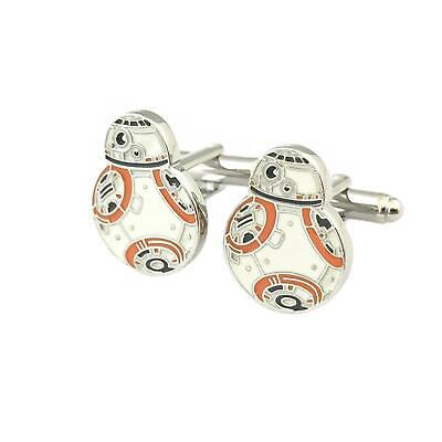 Star Wars BB-8 Enamel Fashion Novelty Cuff Links Movie Film Series with Gift Box](Star Wars Novelty Gifts)