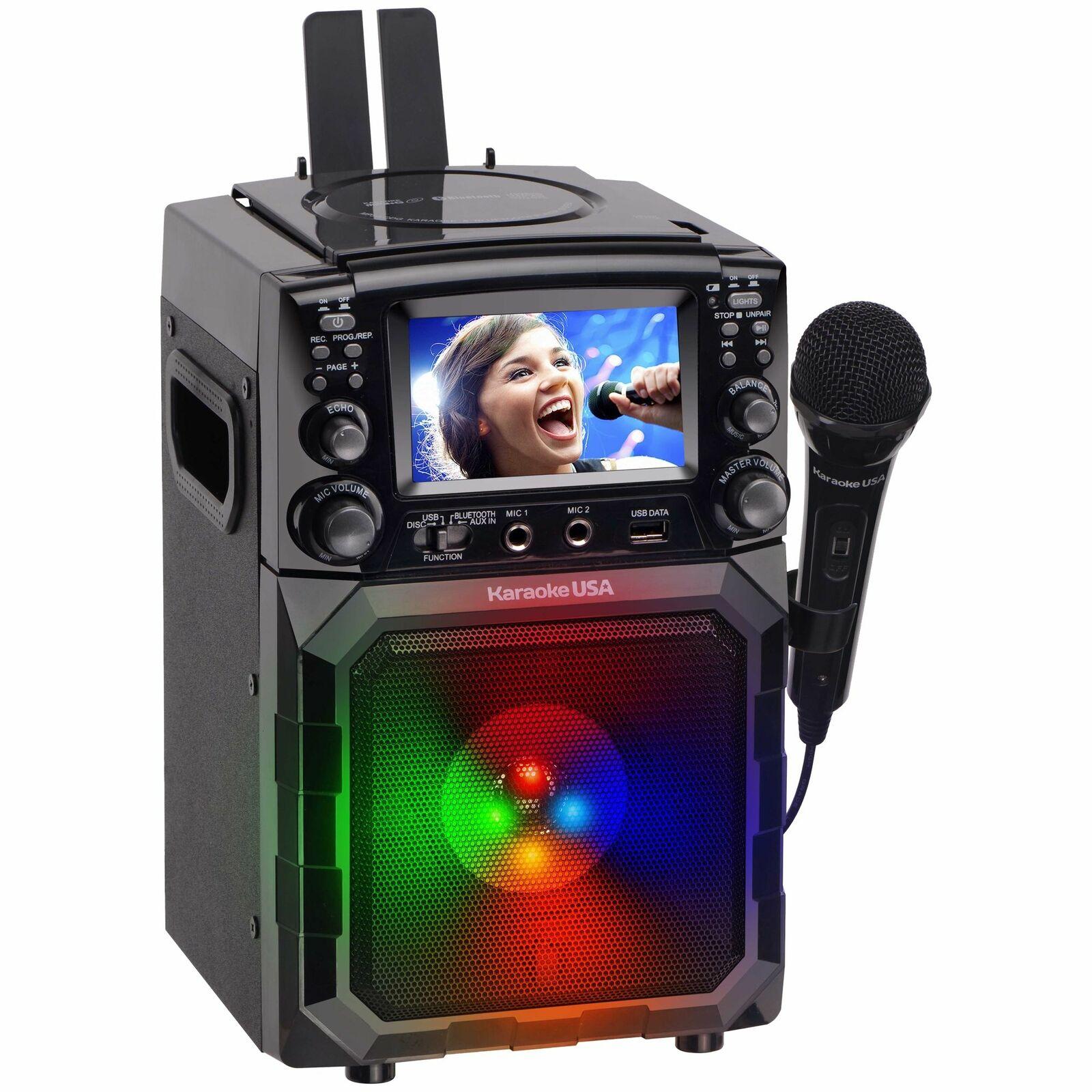 karaoke-usa-gq450-portable-rechargeable-dg-mp3g-bluetooth-karaoke-player
