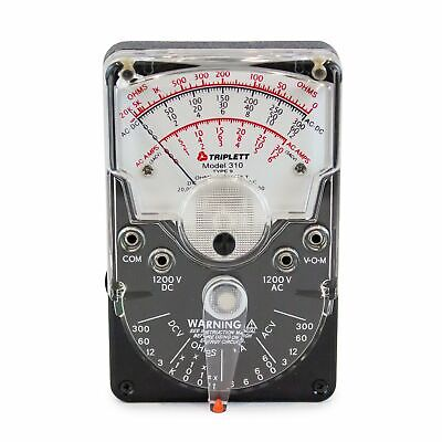 Triplett Analog Multimeter Model 310 - 10121101