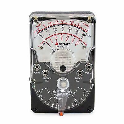 Triplett Analog Multimeter Model 310 - 10121101