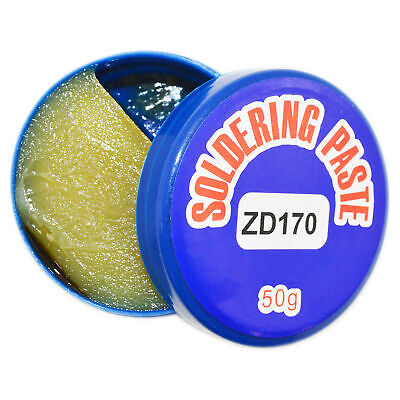 Soldering Paste Flux - 50 Gram Box - Helpful In Smooth Solder Flow
