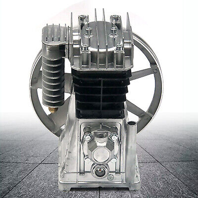 2065-3hp 2.2kw Piston Cylinder Oil Lubricated Air Compressor Pump Head 250lmin