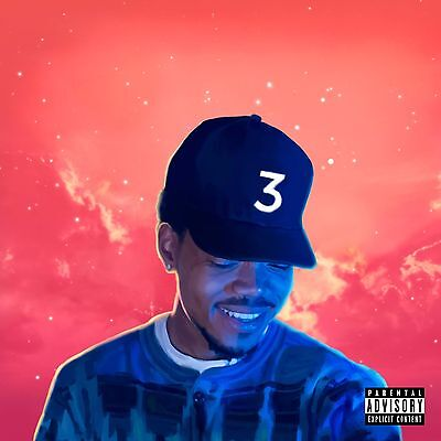 Chance the Rapper Coloring Book poster wall decoration photo print 24x24 inches