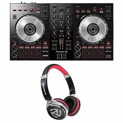 Pioneer DDJ-SB3 Serato DJ Controller w/ 2-Channel Mixer & Software + Headphones