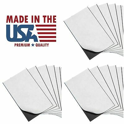 25 Self Adhesive Peel And Stick Promotional Business Card Magnets Made In Usa